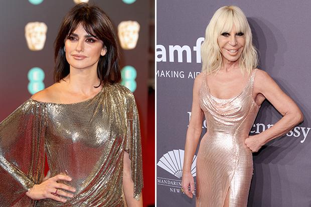 Penelope Cruz Transforms Into Donatella Versace Celebuzz
