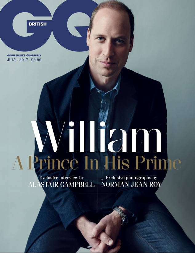 Prince William GQ cover