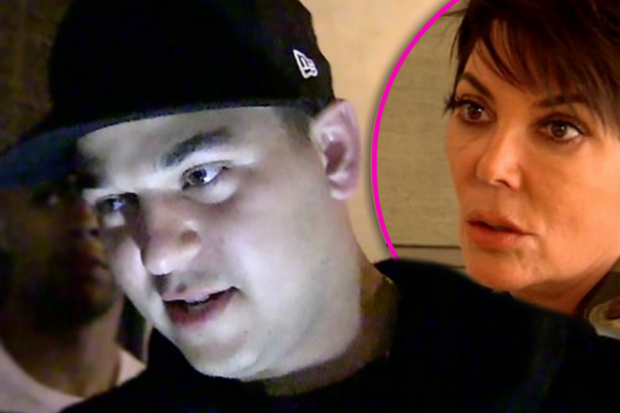 Rehab for Rob? The Kardashian Family is Staging an Intervention