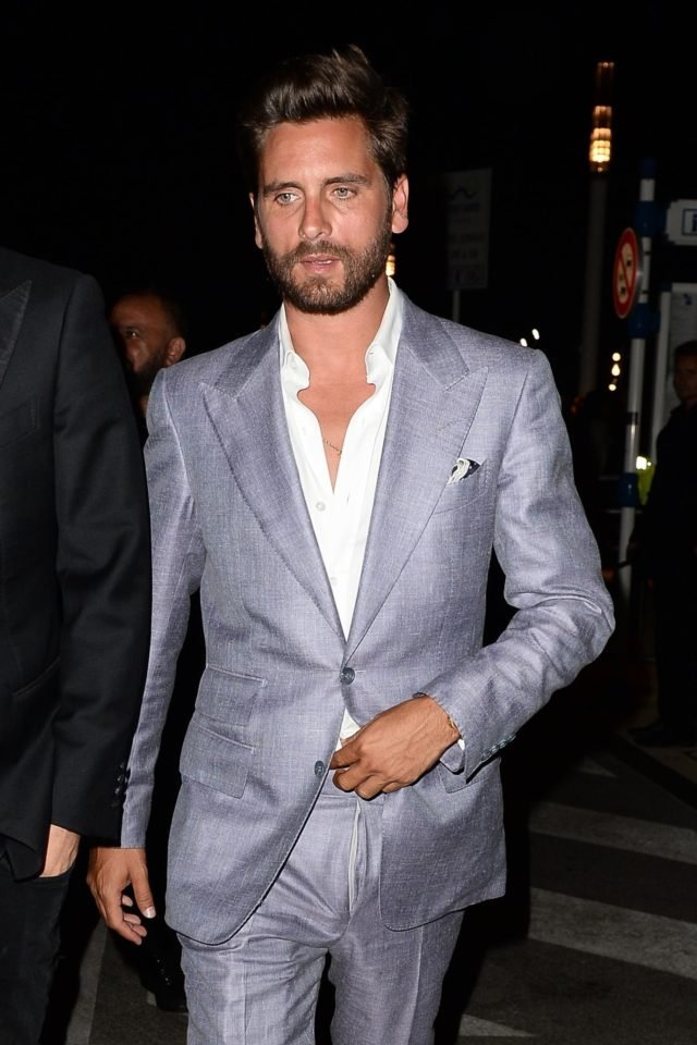 Scott Disick suits up for a night out at Baoli Nightclub