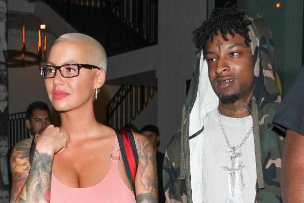 amber rose 21 savage