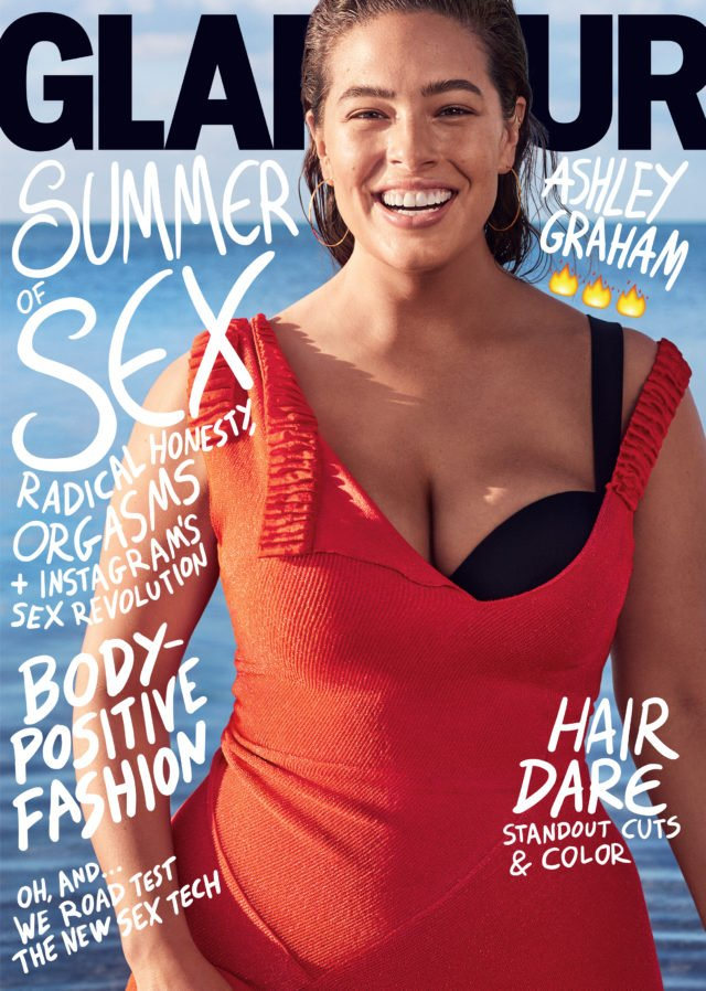 Ashley Graham Glamour Cover
