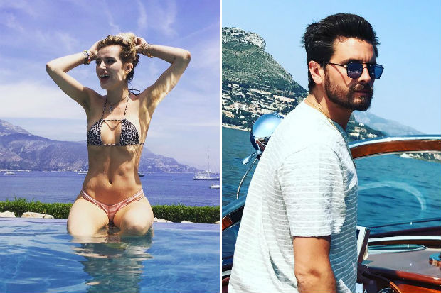 Bella Thorne Scott Disick Cannes