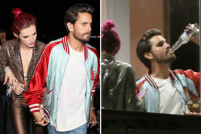Scott Disick and Bella Thorne Hold Hands After a Night of HARD Partying