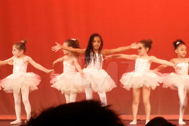 blue ivy ballet dance recital stage video