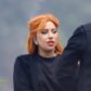 lady gaga a star is born set orange hair
