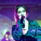 Daya vans perform stage concert show live