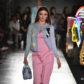 Miranda Kerr Moschino runway fashion show