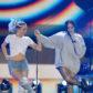 Miley Cyrus sister Noah stage duet
