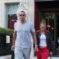 Jennifer Lopez Alex Rodriguez hold hands
