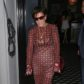Kris Jenner underwear bra see-through sheer dress