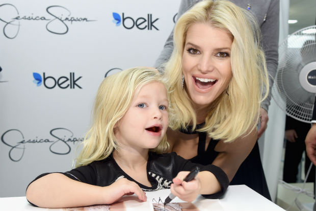 Jessica Simpson daughter maxwell drew kids children