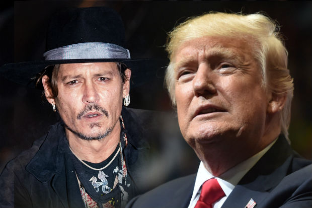 johnny depp donald trump