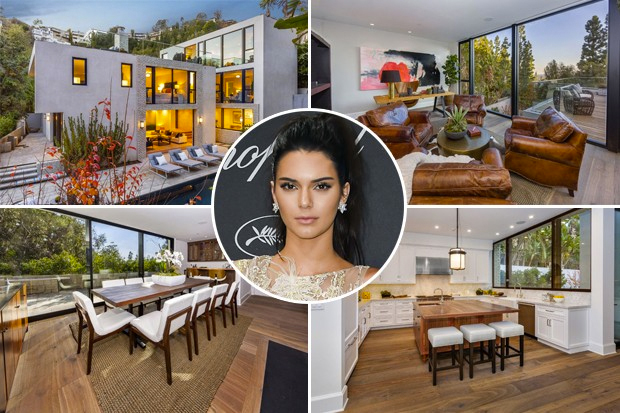 kendall jenner home house mansion