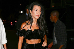 Kourtney Kardashian Does a