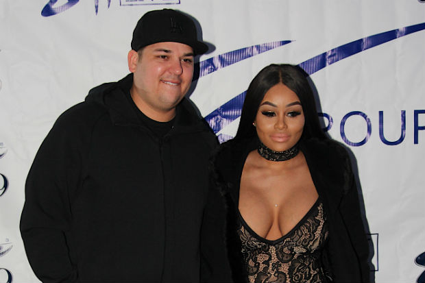 Rob and Chyna Working Things Out?!