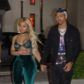 """Miami, FL  - *EXCLUSIVE*  - Rob Kardashian's ex Blac Chyna and her new boyfriend Mechie were pictured packing on the PDA as the first pictures of them holding hands were taken as they left """"Dream"""" nightclub in Miami Beach at 4AM. The beautiful young couple were escorted by a bodyguard through a side VIP exit and across the street to a waiting car, as Mechie is seen gently helping Blac into the car while still holding hands. They were also pictured as they arrived to the club at about 2:30 AM. The new couple had been vacationing in Miami Beach for a few days and enjoying some very late nights out on the town, which is world famous for it's beaches and nightlife.  Pictured: Blac Chyna, Mechie  BACKGRID USA 24 JULY 2017   BYLINE MUST READ: DAME / BACKGRID  USA: +1 310 798 9111 / usasales@backgrid.com  UK: +44 208 344 2007 / uksales@backgrid.com  *UK Clients - Pictures Containing Children Please Pixelate Face Prior To Publication*"""