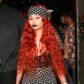 Blac Chyna red hair wig