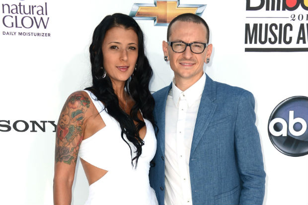 Chester Bennington Talinda Ann Bentley wife
