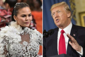 This Is What Chrissy Teigen Tweeted That Got Her Blocked by Donald Trump