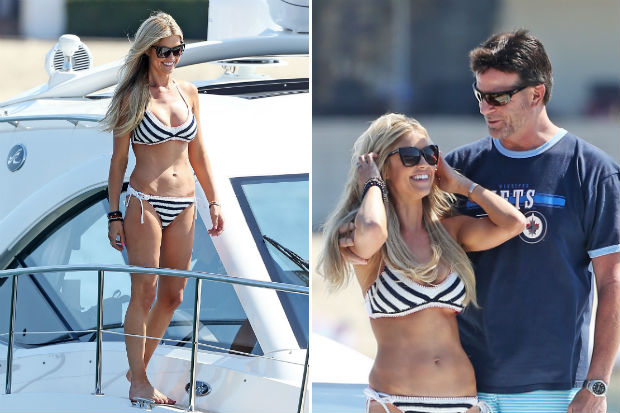 christina el moussa doug spedding boyfriend bikini