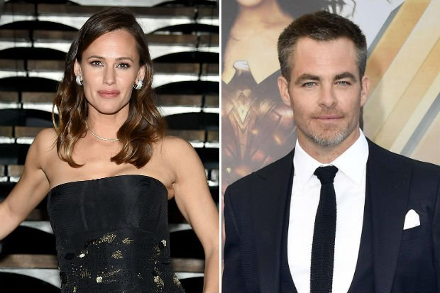 jennifer garner chris pine