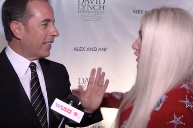 Kesha Was 'Hug Traumatized' After Jerry Seinfeld Shutdown (Audio)