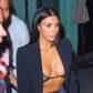 kim kardashian boobs breasts tits cleavage see-through sheer bra lingerie nipple nip slip