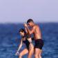 kourtney kardashian younes bendjima st tropez simwsuit bikini beach sideboob shirtless hot sexy