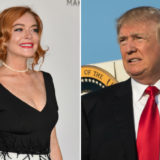 "Lindsay Lohan Wants You to ""Stop Bullying"" Donald Trump"