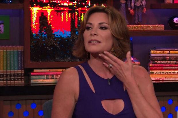Luann Speaks On Husband Slapping Rumor