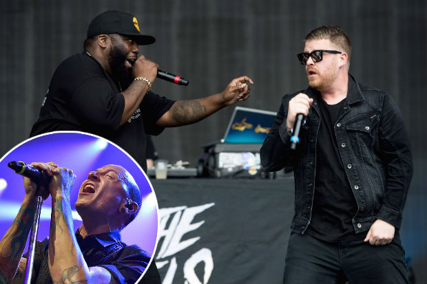run the jewels chester bennington linkin park