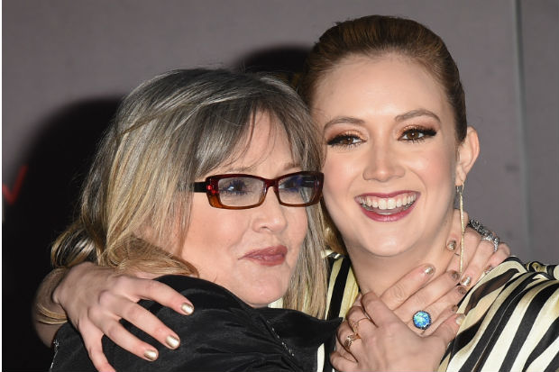 carrie fisher billie lourd daughter mother