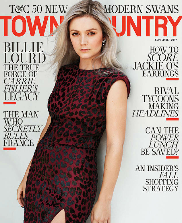 billie lourd town & country cover