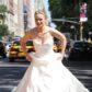 Kristen Bell wedding dress gown