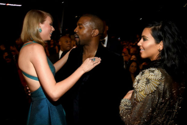 kim kardashian taylor swift kanye west