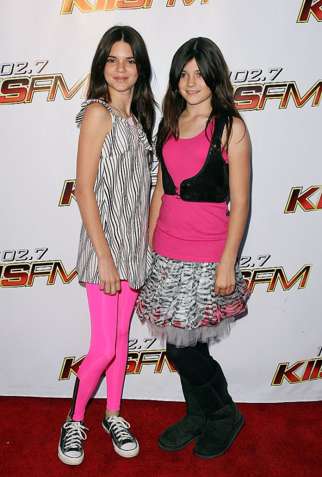 kendall kylie jenner 2008