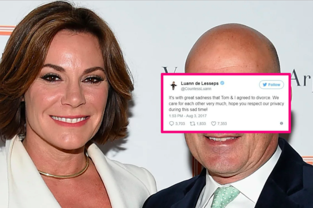 Luann Changes Name on Twitter and Instagram