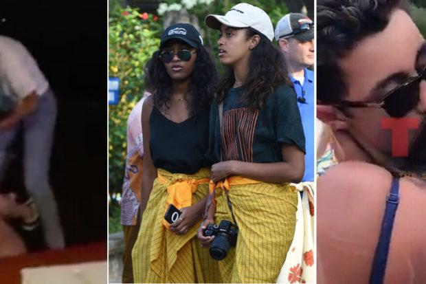 Sasha and Malia Obama Go Wild at Lollapalooza!