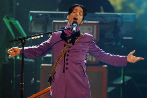 Prince Memorialized with His Very Own Shade of Purple