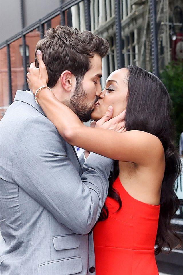 Rachel Lindsay Bryan Abasolo kiss