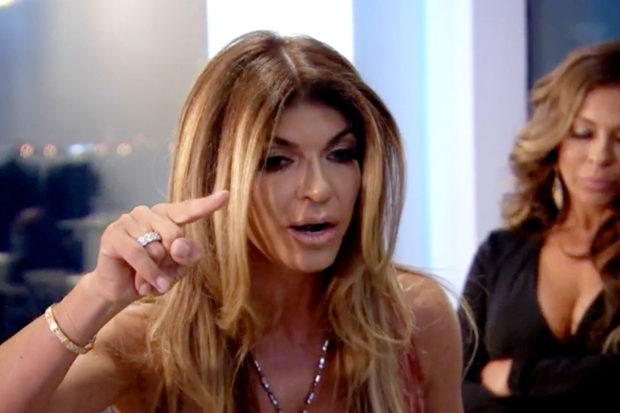 Teresa Giudice Flips Chairs as Danielle Staub Returns to 'RHONJ'