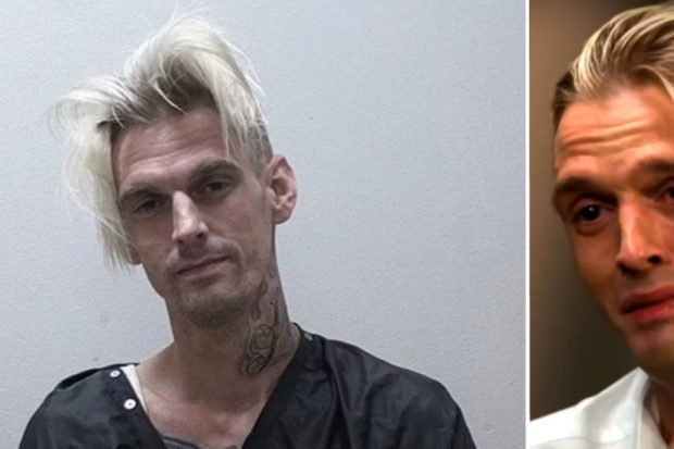 """This Is F**ked Up"": Cops Called to Aaron Carter's House After Severe Car Crash"