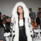 Nicki Minaj fur coat