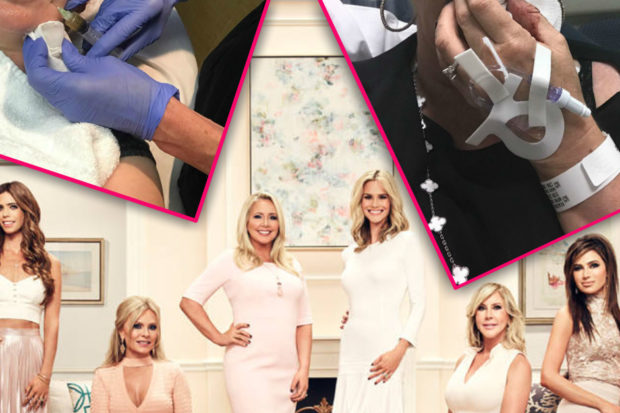 """""""Blood Was Spewing Everywhere"""": 'RHOC' Star Rushed to Hospital"""