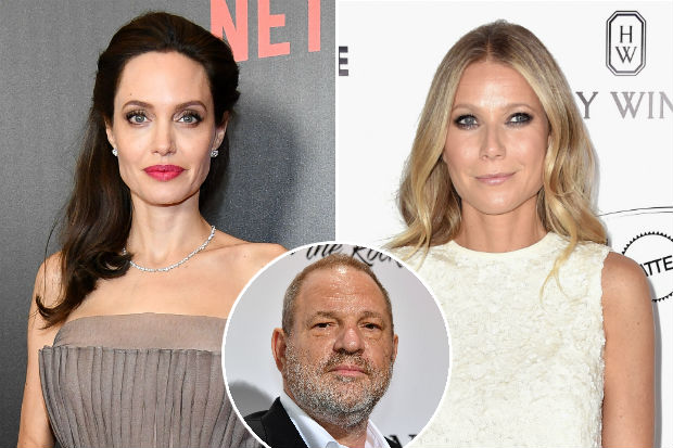 Angelina Jolie gwyneth paltrow harvey weinstein