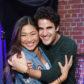 Jenna Ushkowitz darren criss hug