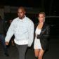 Kim Kardashian kanye west hold hands birthday dinner
