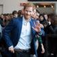 Prince Harry wave fans denmark