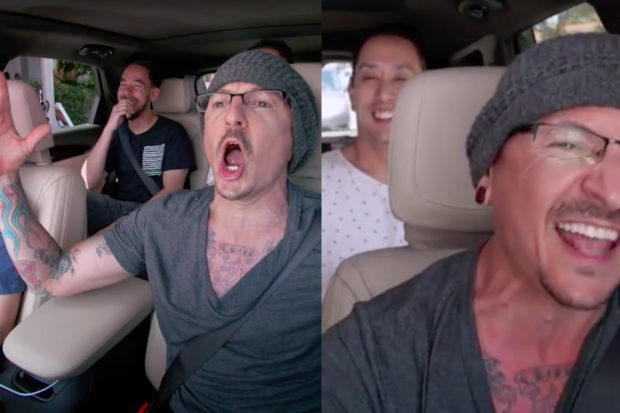 Chester Bennington Cracked Jokes on 'Carpool Karaoke' Filmed Days Before His Death